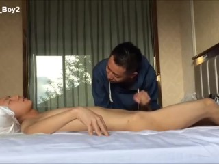 Hot Asian Boys: Edging Handjob & Double Jerk Off