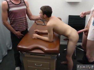 Young boy twink make old gay man cum