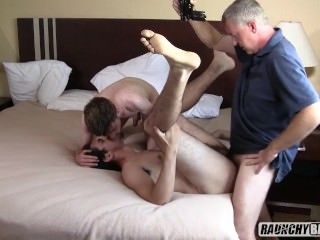 Teen Rentboy Initiated Bareback By Daddy