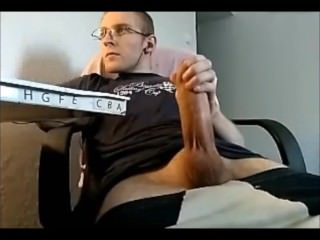 Twink Jerking His Hot Big Dick