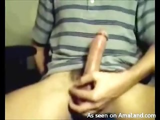 Hard Dick Cums Without Being Stroked