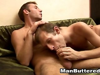 Horny twinks fuck in many positions after sucking each other's cocks